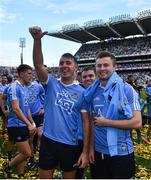 17 September 2017; Dublin's Cormac Costello, left, and Jack McCaffrey following the GAA Football All-Ireland Senior Championship Final match between Dublin and Mayo at Croke Park in Dublin. Photo by Ramsey Cardy/Sportsfile