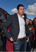 17 September 2017; Former Tyrone footballer Sean Cavanagh ahead of the GAA Football All-Ireland Senior Championship Final match between Dublin and Mayo at Croke Park in Dublin. Photo by Ramsey Cardy/Sportsfile