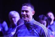 18 September 2017; Stephen Cluxton of Dublin during the All-Ireland Senior Football Champions Homecoming at Smithfield Square in Dublin. Photo by David Fitzgerald/Sportsfile