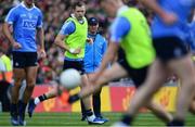 17 September 2017; Dublin manager Jim Gavin ahead of the GAA Football All-Ireland Senior Championship Final match between Dublin and Mayo at Croke Park in Dublin. Photo by Sam Barnes/Sportsfile