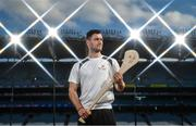 19 September 2017; PwC's sponsorship of the PwC All-Stars was celebrated with an event at Croke Park. The new partnership with the GAA and GPA was officially confirmed last Friday. Uachtarán Chumann Lúthcleas Gael Aogán Ó Fearghail, GPA Chief Executive Dermot Earley and Feargal O'Rourke, Managing Partner, PwC were joined by Galway's All Ireland winning hurling captain David Burke, Waterford hurling captain Kevin Moran and Kerry footballer Paul Geaney at the event. Pictured is David Burke of Galway in attendance during the PwC All-Stars hurling nominations at Croke Park in Dublin. Photo by Brendan Moran/Sportsfile