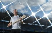 19 September 2017; PwC's sponsorship of the PwC All-Stars was celebrated with an event at Croke Park. The new partnership with the GAA and GPA was officially confirmed last Friday. Uachtarán Chumann Lúthcleas Gael Aogán Ó Fearghail, GPA Chief Executive Dermot Earley and Feargal O'Rourke, Managing Partner, PwC were joined by Galway's All Ireland winning hurling captain David Burke, Waterford hurling captain Kevin Moran and Kerry footballer Paul Geaney at the event. Pictured is Kevin Moran of Waterford in attendance during the PwC All-Stars hurling nominations at Croke Park in Dublin. Photo by Brendan Moran/Sportsfile