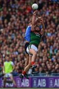 17 September 2017; Aidan O'Shea of Mayo in action againsts James McCarthy of Dublin during the GAA Football All-Ireland Senior Championship Final match between Dublin and Mayo at Croke Park in Dublin. Photo by Sam Barnes/Sportsfile