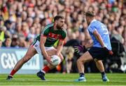 17 September 2017; Aidan O'Shea of Mayo in action against Jonny Cooper of Dublin during the GAA Football All-Ireland Senior Championship Final match between Dublin and Mayo at Croke Park in Dublin. Photo by Sam Barnes/Sportsfile