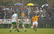3 June 2012; Spectators watch on during the game. Connacht GAA Football Senior Championship Quarter-Final, London v Leitrim, Emerald Park, Ruislip, London. Picture credit: Diarmuid Greene / SPORTSFILE