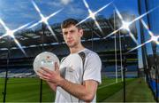 19 September 2017; PwC's sponsorship of the PwC All-Stars was celebrated with an event at Croke Park. The new partnership with the GAA and GPA was officially confirmed last Friday. Uachtarán Chumann Lúthcleas Gael Aogán Ó Fearghail, GPA Chief Executive Dermot Earley and Feargal O'Rourke, Managing Partner, PwC were joined by Galway's All Ireland winning hurling captain David Burke, Waterford hurling captain Kevin Moran and Kerry footballer Paul Geaney at the event. Pictured is Paul Geaney of Kerry in attendance during the PwC All-Stars hurling nominations at Croke Park in Dublin. Photo by Brendan Moran/Sportsfile