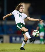 19 September 2017; Leanne Kiernan of the Republic of Ireland during the 2019 FIFA Women's World Cup Qualifier Group 3 match between Northern Ireland and Republic of Ireland at Mourneview Park in Lurgan, Co Armagh. Photo by Stephen McCarthy/Sportsfile