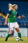 19 September 2017; Ashley Hutton of Northern Ireland during the 2019 FIFA Women's World Cup Qualifier Group 3 match between Northern Ireland and Republic of Ireland at Mourneview Park in Lurgan, Co Armagh. Photo by Stephen McCarthy/Sportsfile