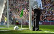 17 September 2017; A detailed view of a umpire at his position during the GAA Football All-Ireland Senior Championship Final match between Dublin and Mayo at Croke Park in Dublin. Photo by Piaras Ó Mídheach/Sportsfile