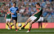 17 September 2017; Donal Vaughan of Mayo during the GAA Football All-Ireland Senior Championship Final match between Dublin and Mayo at Croke Park in Dublin. Photo by Piaras Ó Mídheach/Sportsfile