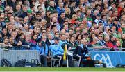 17 September 2017; Dublin manager Jim Gavin during the GAA Football All-Ireland Senior Championship Final match between Dublin and Mayo at Croke Park in Dublin. Photo by Piaras Ó Mídheach/Sportsfile