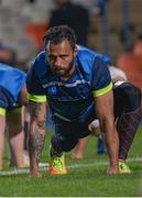 21 September 2017; Isa Nacewa of Leinster during the Leinster captain's run at Toyota Stadium in Bloemfontein, South Africa. Photo by Frikkie Kapp/Sportsfile