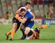 22 September 2017; Jack Conan of Leinster is tackled by William Small-Smith of Toyota Cheetahs during the Guinness PRO14 Round 4 match between Cheetahs and Leinster at Toyota Stadium in Bloemfontein. Photo by Johan Pretorius/Sportsfile