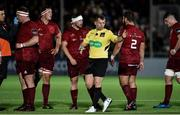 22 September 2017; Referee Nigel Owens during the Guinness PRO14 Round 4 match between Glasgow Warriors and Munster at Scotstoun Stadium in Glasgow. Photo by Rob Casey/Sportsfile
