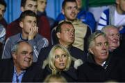 22 September 2017; Waterford United owner Lee Power watches his team in action against Longford Town during the SSE Airtricity League First Division match between Waterford FC and Longford Town at the RSC in Waterford. Photo by Matt Browne/Sportsfile