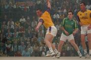 21 September 2002; Colin Keeling, Wexford, in action during the Senior Doubles Final, High Ball All Ireland handball Finals, Croke Park, Dublin. Picture credit; Damien Eagers / SPORTSFILE *EDI*