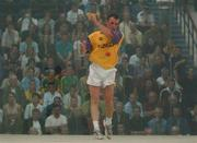 21 September 2002; Tommy Hynes, Wexford, in action during the Senior Doubles Final, High Ball All Ireland handball Finals, Croke Park, Dublin. Picture credit; Damien Eagers / SPORTSFILE *EDI*