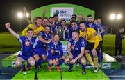 22 September 2017; Waterford FC players celebrate after the SSE Airtricity League First Division match between Waterford FC and Longford Town at the RSC in Waterford. Photo by Matt Browne/Sportsfile