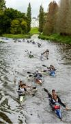 23 September 2017; Competitors during the 58th International Liffey Descent on the River Liffey at Straffan Weir, in Straffan, Co Kildare. Photo by Piaras Ó Mídheach/Sportsfile