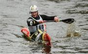 23 September 2017; Craig Cummins, competing in the Junior WWR K1 class, during the 58th International Liffey Descent on the River Liffey at Straffan Weir, in Straffan, Co Kildare. Photo by Piaras Ó Mídheach/Sportsfile