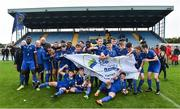 23 September 2017; Waterford FC players celebrate after the SSE Airtricity National Under 17 League Mark Farren Cup Final match between Waterford FC and Sligo Rovers at RSC in Waterford. Photo by Matt Browne/Sportsfile