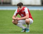 23 September 2017; Scott Lynch of Sligo Rovers after the SSE Airtricity National Under 17 League Mark Farren Cup Final match between Waterford FC and Sligo Rovers at RSC in Waterford. Photo by Matt Browne/Sportsfile