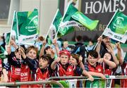 23 September 2017; Connacht supporters from Galway Bay Rugby Club show their support during the Guinness PRO14 Round 4 match between Connacht and Cardiff Blues at The Sportsground in Galway. Photo by Diarmuid Greene/Sportsfile