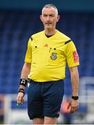 23 September 2017; Referee Patrick O'Connor during the SSE Airtricity National Under 17 League Mark Farren Cup Final match between Waterford FC and Sligo Rovers at RSC in Waterford. Photo by Matt Browne/Sportsfile