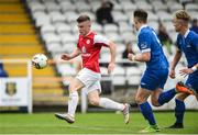 23 September 2017; Aaron Perry of Sligo Rovers in action against Waterford FC during the SSE Airtricity National Under 17 League Mark Farren Cup Final match between Waterford FC and Sligo Rovers at RSC in Waterford. Photo by Matt Browne/Sportsfile