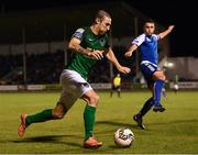 22 September 2017; Karl Sheppard of Cork City during the SSE Airtricity League Premier Division match between Limerick FC and Cork City at Markets Fields in Limerick. Photo by Stephen McCarthy/Sportsfile