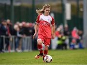 23 September 2017; Jamie Finn of Shelbourne Ladies during the Continental Tyres Women's National League Cup Final match between Peamount United and Shelbourne Ladies at Greenogue in Dublin. Photo by Stephen McCarthy/Sportsfile