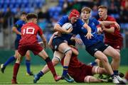 23 September 2017; Luke Thompson of Leinster during the under18 clubs interprovincial match between Leinster and Munster at Donnybrook Stadium in Dublin. Photo by Ramsey Cardy/Sportsfile