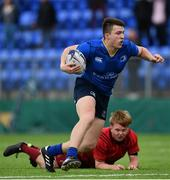 23 September 2017; Diarmuid Egan of Leinster during the under18 clubs interprovincial match between Leinster and Munster at Donnybrook Stadium in Dublin. Photo by Ramsey Cardy/Sportsfile