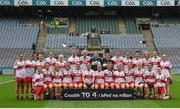 24 September 2017; The Derry team ahead of the TG4 Ladies Football All-Ireland Junior Championship Final match between Derry and Fermanagh at Croke Park in Dublin. Photo by Cody Glenn/Sportsfile