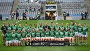 24 September 2017; The Fermanagh team ahead of the TG4 Ladies Football All-Ireland Junior Championship Final match between Derry and Fermanagh at Croke Park in Dublin. Photo by Cody Glenn/Sportsfile