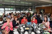 24 September 2017; The Waterford and Laois teams that contested the 1992 Ladies Senior All Ireland Final in Croke Park returned to the stadium to celebrate the 25th anniversary of that final which Waterford won. Attendees during the function at Croke Park. Photo by Stephen McCarthy/Sportsfile