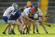 24 September 2017; Players from both sides tussle for the loose ball during the Tipperary County Senior Club Hurling Championship semi-final match between Thurles Sarsfields and Éire Óg Annacarty/Donohill at Semple Stadium in Thurles, Tipperary. Photo by Piaras Ó Mídheach/Sportsfile