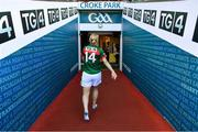 24 September 2017; Cora Staunton of Mayo leaves the pitch after the TG4 Ladies Football All-Ireland Senior Championship Final match between Dublin and Mayo at Croke Park in Dublin. Photo by Brendan Moran/Sportsfile