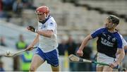 24 September 2017; Billy McCarthy of Thurles Sarsfields in action against Stephen O'Brien of Éire Óg Annacarty/Donohill during the Tipperary County Senior Club Hurling Championship semi-final match between Thurles Sarsfields and Éire Óg Annacarty/Donohill at Semple Stadium in Thurles, Tipperary. Photo by Piaras Ó Mídheach/Sportsfile