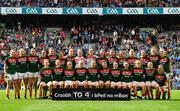 24 September 2017; The Mayo squad prior to during the TG4 Ladies Football All-Ireland Senior Championship Final match between Dublin and Mayo at Croke Park in Dublin. Photo by Brendan Moran/Sportsfile