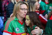 24 September 2017; Mayo supporters following the TG4 Ladies Football All-Ireland Senior Championship Final match between Dublin and Mayo at Croke Park in Dublin. Photo by Cody Glenn/Sportsfile