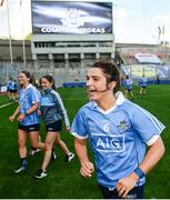24 September 2017; Niamh Collins of Dublin following the TG4 Ladies Football All-Ireland Senior Championship Final match between Dublin and Mayo at Croke Park in Dublin. Photo by Cody Glenn/Sportsfile