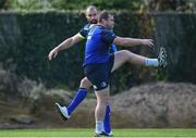 25 September 2017; Scott Fardy, left, and Jack McGrath of Leinster during squad training at UCD, Belfield, in Dublin. Photo by David Fitzgerald/Sportsfile