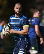 25 September 2017; Scott Fardy of Leinster during squad training at UCD, Belfield, in Dublin. Photo by David Fitzgerald/Sportsfile