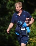 25 September 2017; Leinster head coach Leo Cullen arrives ahead of squad training at UCD, Belfield, in Dublin. Photo by David Fitzgerald/Sportsfile