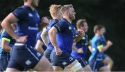 25 September 2017; Sean O'Brien of Leinster during squad training at UCD, Belfield, in Dublin. Photo by David Fitzgerald/Sportsfile