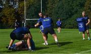 25 September 2017; A general view during Leinster squad training at UCD, Belfield, in Dublin. Photo by David Fitzgerald/Sportsfile