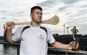 26 September 2017; Mayo's Andy Moran and Waterford's Jamie Barron confirmed as the PwC GAA/GPA Players of the Month for August in football and hurling. Pictured is Jamie Barron of Waterford after being presented with his PwC GAA/GPA Player of the Month Award at a reception in PwC Offices, Dublin. Photo by Sam Barnes/Sportsfile