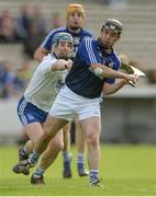24 September 2017; Ronan O'Brien of Éire Óg Annacarty/Donohill in action against John Maher of Thurles Sarsfields during the Tipperary County Senior Club Hurling Championship semi-final match between Thurles Sarsfields and Éire Óg Annacarty/Donohill at Semple Stadium in Thurles, Tipperary. Photo by Piaras Ó Mídheach/Sportsfile