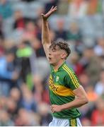 17 September 2017; David Clifford of Kerry during the Electric Ireland GAA Football All-Ireland Minor Championship Final match between Kerry and Derry at Croke Park in Dublin. Photo by Piaras Ó Mídheach/Sportsfile